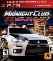 Midnight Club LA GH pour PS3