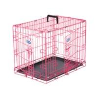 cage pour chiens deux portes 30po. Black Bedroom Furniture Sets. Home Design Ideas