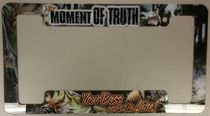 Rico Industries Moment of Truth License Plate