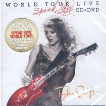 Taylor Swift - World Tour Live: Speak Now (CD/DVD)
