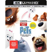 The Secret Life Of Pets (4K Ultra HD + Blu-ray + Digital HD) (Bilingual)