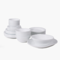 Corelle ® Livingware™ Winter Frost White 76pc Dinnerware Set