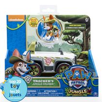PAW Patrol Jungle Rescue Tracker's Jungle Cruiser Toy Vehicle and Action Figure