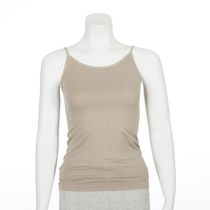 George Women's Seamless V-Neck Cami Taupe S/P