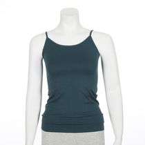 George Women's Seamless V-Neck Cami Teal M/M