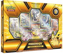 Pokémon Legendary Collection: 2015 Deluxe Pikachu-Ex Trading Card Game