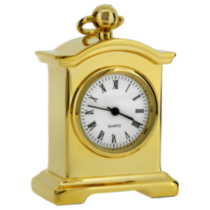 Carriage Mantle Collectible Desktop Mini Clock (C94G)