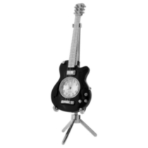 Les Paul Replica Guitar Collectible Desktop Mini Clock (C202BK)