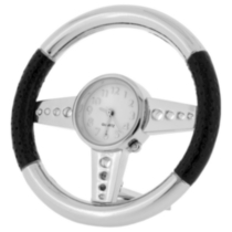 Steering Wheel Collectible Desktop Mini Clock (C1808S)