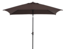 6 ft. x 9 ft. Oblong Umbrella - Brown