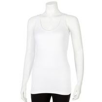 George Women's Seamless Tank White S/P