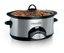 Crock-Pot 6.5 Qt. Oval Programmable Slow Cooker SCVP600SS-033