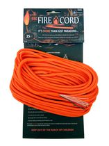 Live Fire 550 FireCord, 25 ft Orange