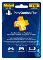 PlayStation® Plus 12 Month Subscription Card