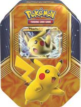 Pokémon 2016 Fall Tin Pikachu Yellow Trading Card Game – English