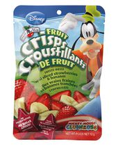 Disney Brothers All Natural Fruit Crisps, Strawberry Banana