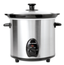 Cool Kitchen Pro Stainless Steel Slow Cooker 3L
