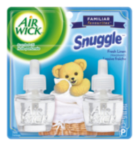 Air Wick Familiar Favourites Scented Oil Refill 2pk - Snuggle