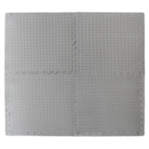 Tapis emboîtables anti-fatigue gris 24 x 24 po (61 x 61 cm)