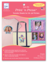Print 'n Press™ Iron-On Transfer Sheets -- Value Pack