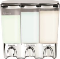Distributeur - Clear Choice Dispenser III, chrome