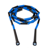 8-ft Beaded Jump Rope (Black/Blue)