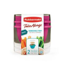 Rubbermaid TakeAlongs Breakfast & Go Food Containers