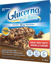 Glucerna Chocolate Chip Bars