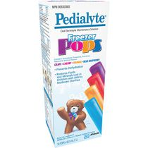 Pedialyte Oral Electrolyte Maintenance Solution - Freezer Pops