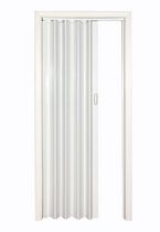 "Home Style White Via 48"" Accordion Folding Door"