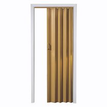 "Home Style Oak Via 48"" Accordion Folding Door"
