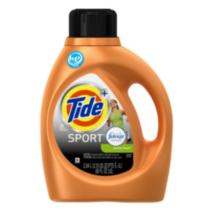 Tide Plus Febreze Freshness Sport Active Fresh Scent High Efficiency Liquid Laundry Detergent, 36 Loads 2.04 L