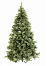 Pre-lit 7.5 Ft Henderson Pine Christmas Tree