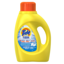 Tide Simply Clean and Fresh Laundry Liquid Detergent, Refreshing Breeze Scent, 38 Loads 1.77 Liters