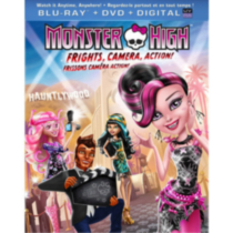 Monster High: Frissons, Caméra, Action! (Blu-ray + DVD + UltraViolet) (Bilingue)