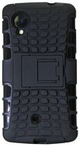 Exian Armored Case with Stand For LG Nexus  5 - Black