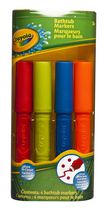 Crayola Bathtub Markers - 4 colours