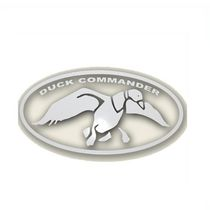 Duck Commander Grand Logo Autocol-Blanc