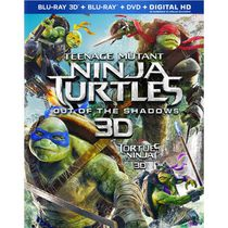 Teenage Mutant Ninja Turtles: Out Of The Shadows (Blu-ray 3D + Blu-ray + DVD + Digital HD) (Bilingual)