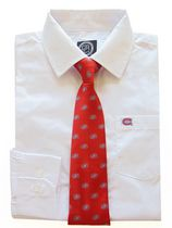 NHL Montreal Boy's Long Sleeve Dress Shirt and Tie 4