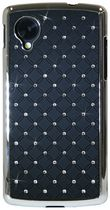 Exian Case for Nexus 5 - Embedded Crystals, Black