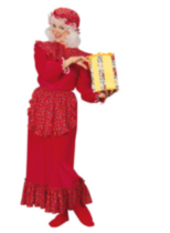 Costume pour Adulte Mme Clause