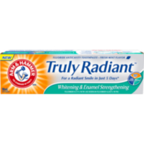 ARM & HAMMER™ Truly Radiant™ Whitening and Enamel Strengthening Toothpaste 90mL