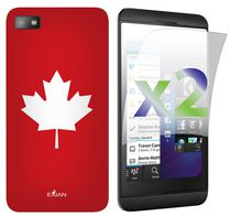 Exian Case for Blackberry Z10 - Maple Leaf Design