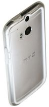 Exian Bumper Case for HTC One M8 White