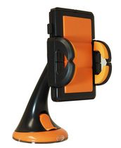 Exian Universal Smartphone Car Suction Mount Orange