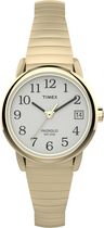 Timex® Women's Easy Reader® with Date, Gold Expansion Band