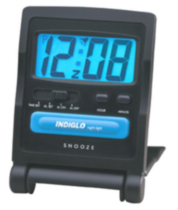 Timex Travel Digital Alarm Clock Black