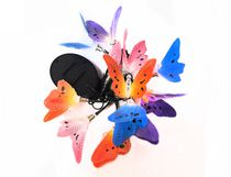 hometrends Solar Powered Fiber Optic Butterfly String Lights