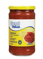 Great Value Medium Thick & Chunky Salsa